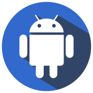 Small Android mobile app icon