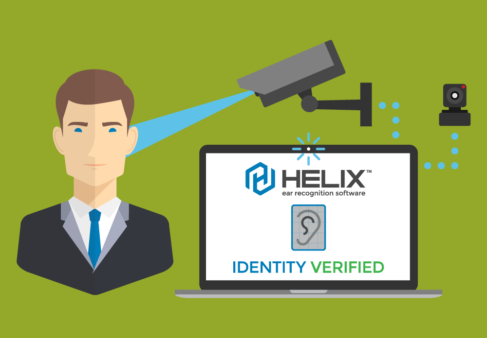 HELIX ear biometric recognition for the Enterprise